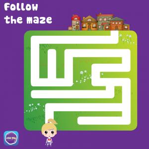 follow-the-maze